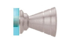 CRL RIBBED BOW-TIE STYLE SINGLE SIDED KNOB