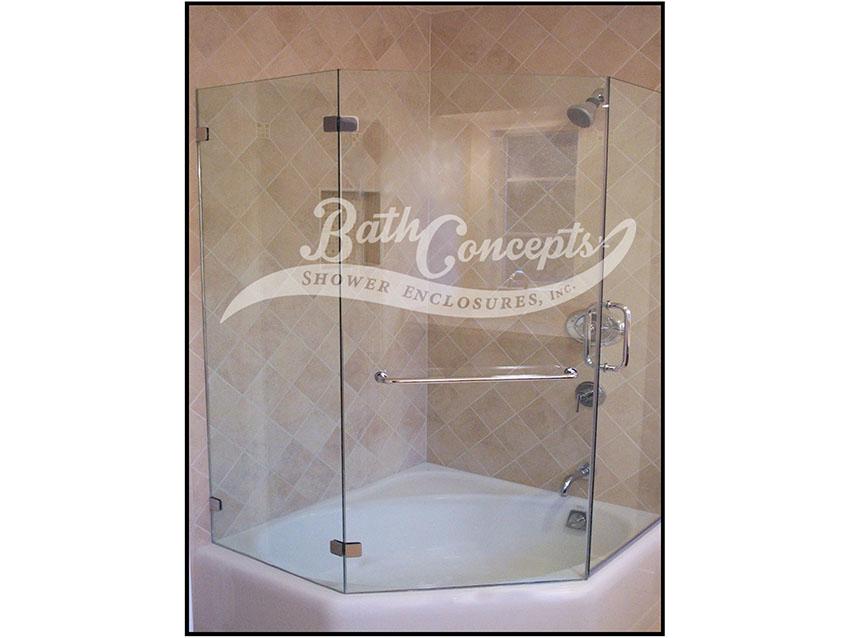 Neo Angle Enclosures - Bath Concepts
