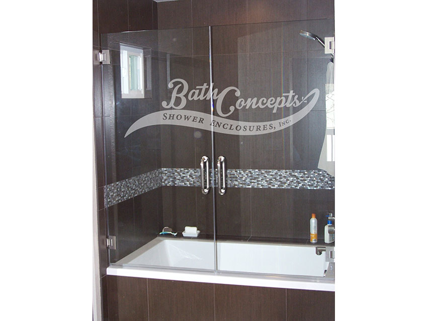 Swinging Doors With Inline Panels Bath Concepts
